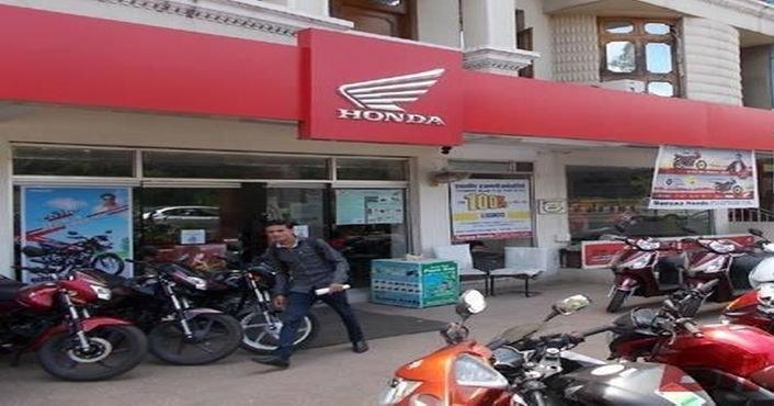 Honda Dealers And Motorcycle Showroom In Robertsganj